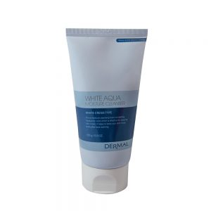 Dermal Kosteuttava White Aqua puhdistusvaahto 150g