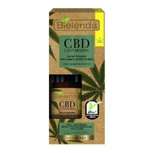 Bielenda CBD Cannabidiol kosteuttava ja kuona-aineita poistava hampunsiemenöljy boosteri sekaiholle & rasvoittuvalle iholle 15ml
