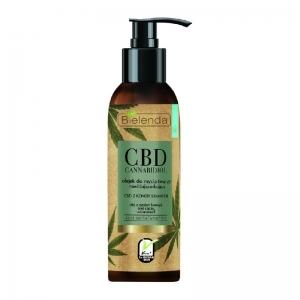 Bielenda CBD Cannabidiol Hampunsiemen-kasvojenpuhdistusöljy kuivalle & herkälle iholle 140ml