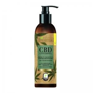 Bielenda CBD Cannabidiol hampunsiemenöljy kasvojenpuhdistusemulsio sekaiholle & rasvaiselle iholle 150ml